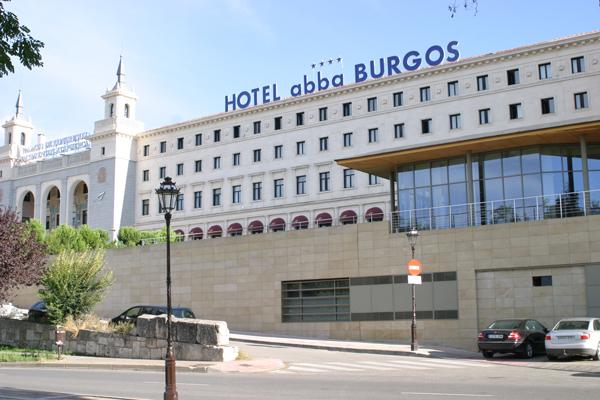 hotel abba en burgos: